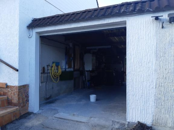 Rénovation d'un garage à St Clair de la Tour