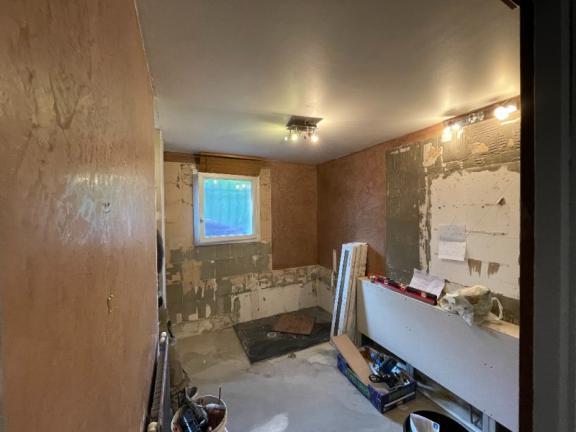 Rénovation d'une salle de bain complète à Domarin